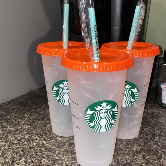 Starbucks Reusable Cups (Cold Drink Only)